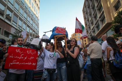 Beirut Bin protest (1 of 5)