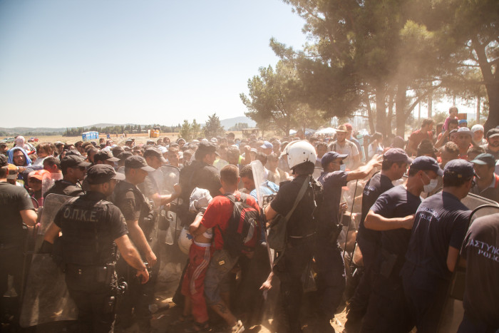 Greek refugee crisis