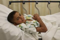 Khaled Syrian burn victims