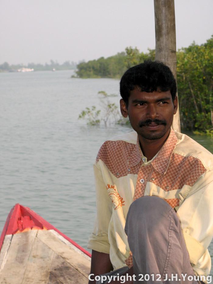Sitting Boatman