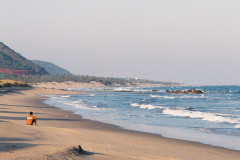 Beach in Eastern India
