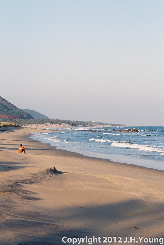 Beach in Eastern India