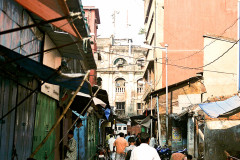The streets of Kolkata