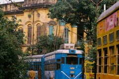 KolKata ancient tram network