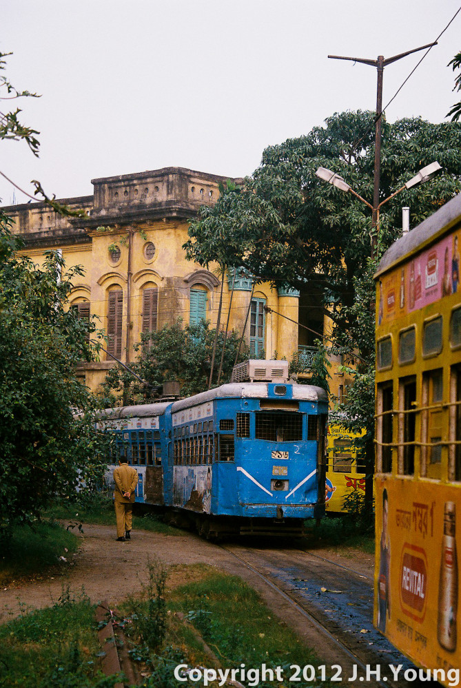KolKata ancient tram network