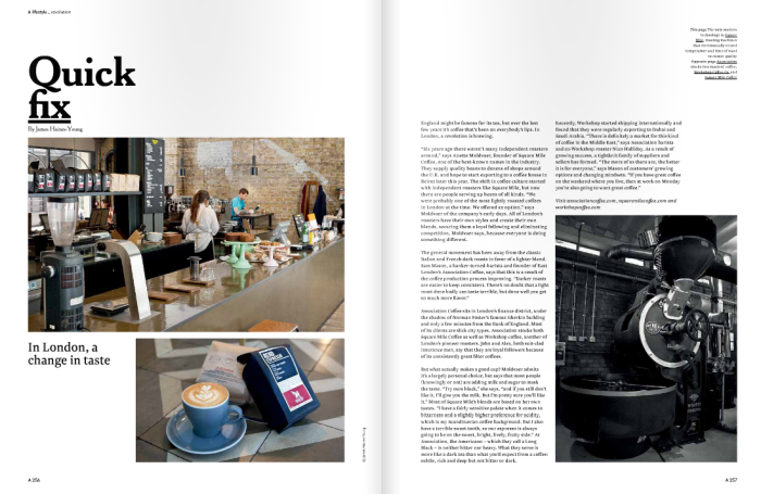 London Coffee A Mag