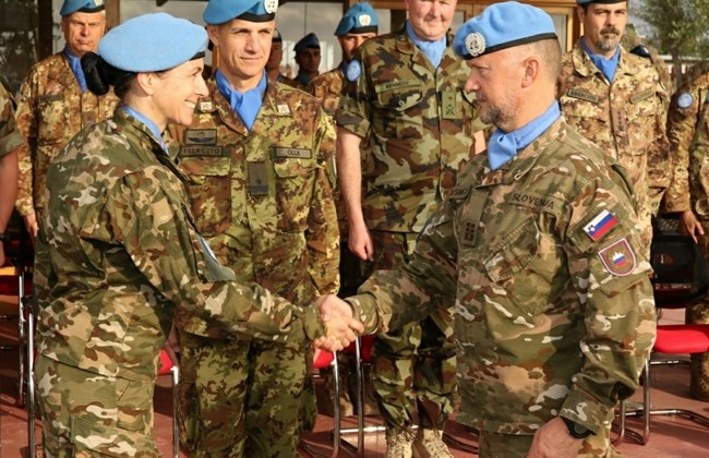 Maj. Nina Raduha. (The Daily Star/UNIFIL, HO)